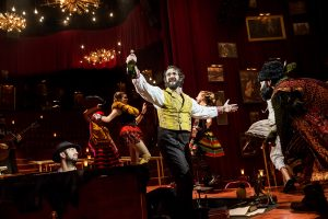 Josh Groban and the cast of NATASHA, PIERRE & THE GREAT COMET OF 1812 - Photo by Chad Batka