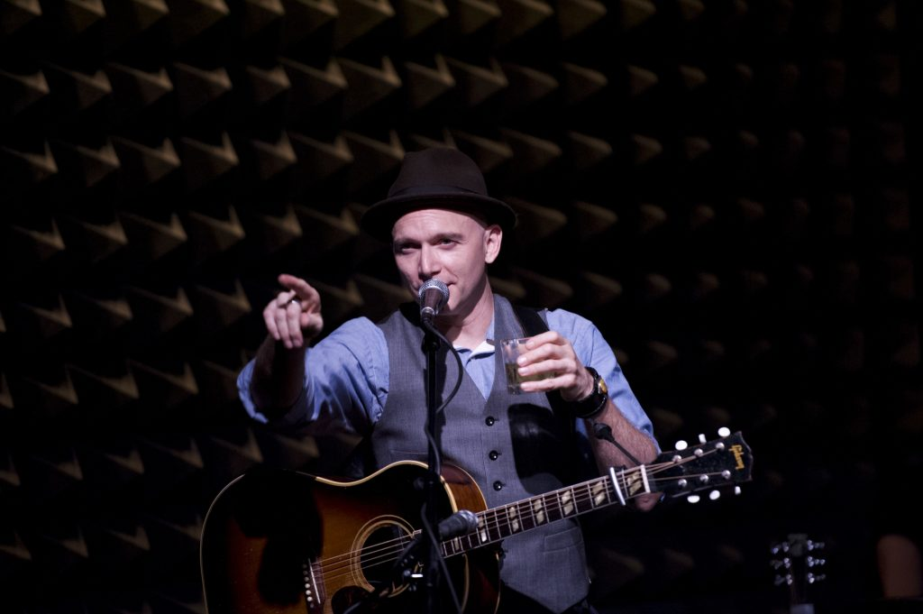 Michael Cerveris and Loose Cattle perform at Joe's Pub, July 15, 2012
