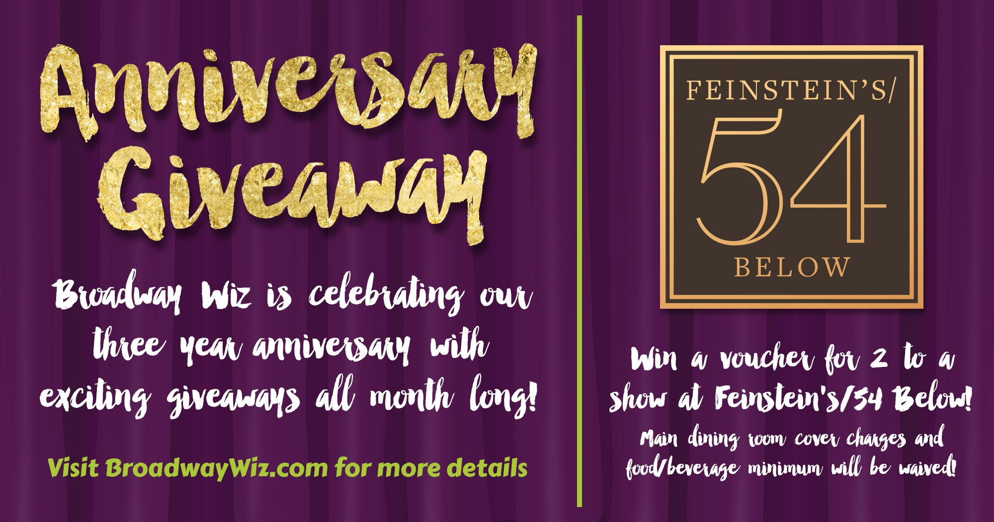 54 Below Giveaway