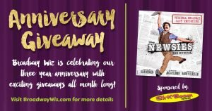 Newsies CD Giveaway