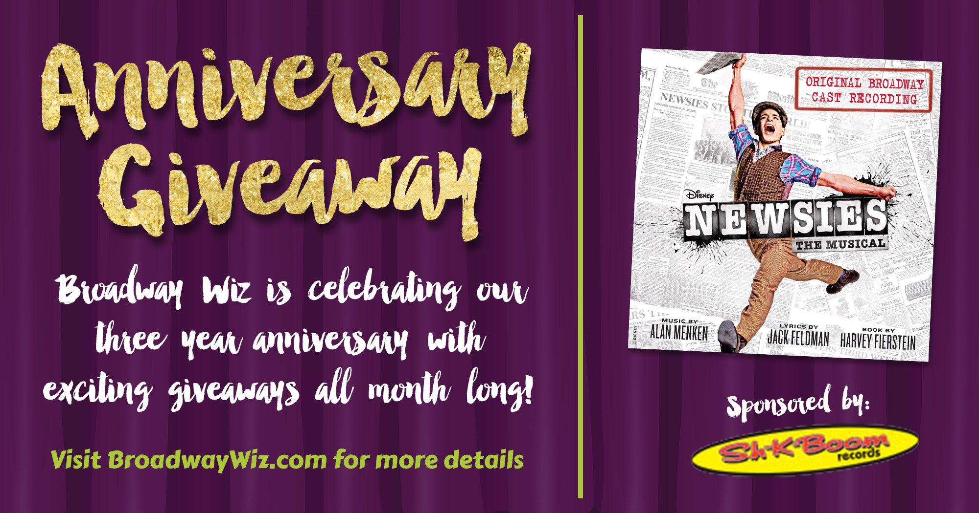 Newsies CD Giveaway