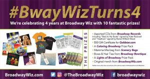 Broadway Wiz Turns 4!