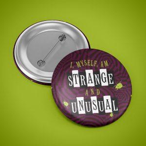 Strange & Unusual Button