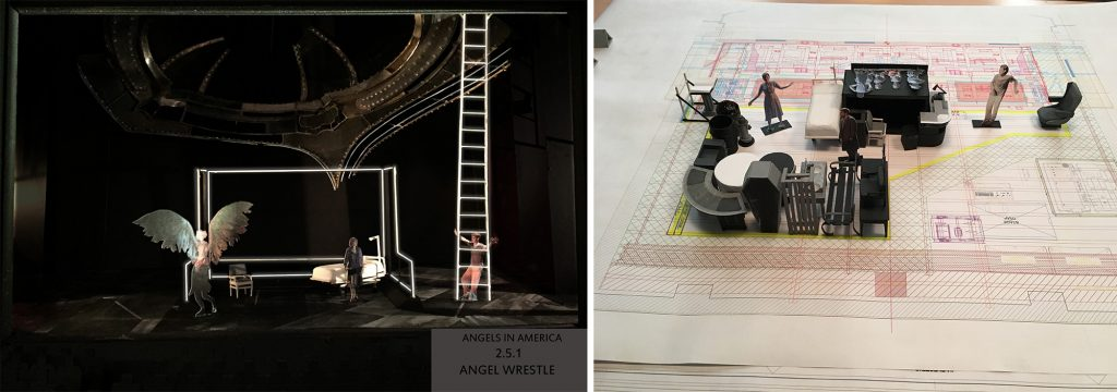 Edward Pierce – Angels In America Set Design