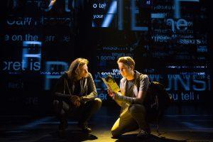 Mike Faist and Ben Platt in Dear Evan Hanson