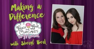 Sheryl Berk - Peace, Love and Cupcakes