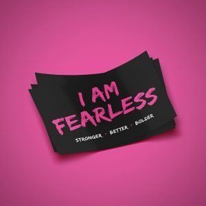 Fearless Sticker