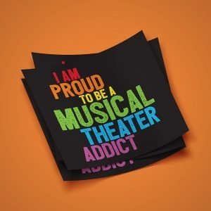 Musical Theater Pride Sticker