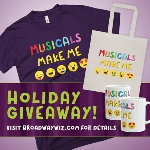 Broadway Wiz Holiday Contest