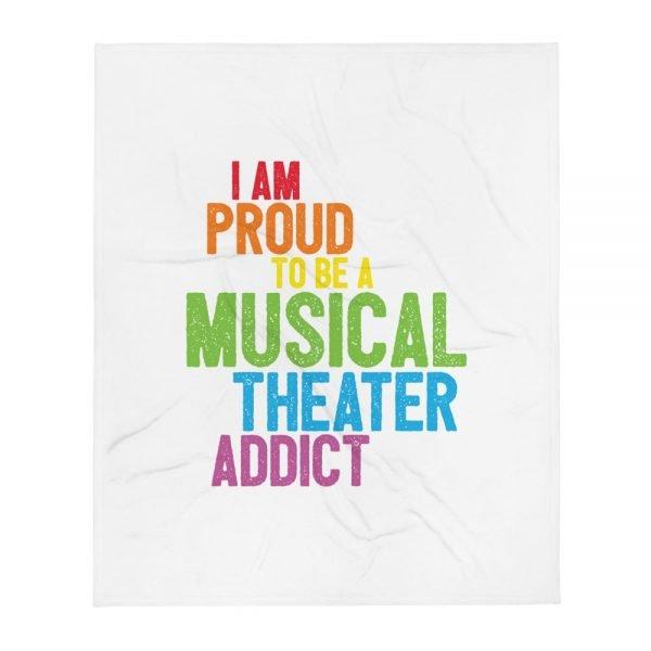 Musical Theater Addict Blanket